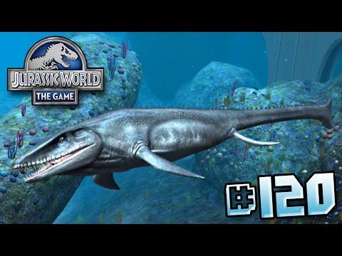 MOSASAUR UNLOCKED! || Jurassic World - The Game - Ep 120 HD streaming vf