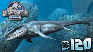MOSASAUR UNLOCKED! || Jurassic World - The Game - Ep 120 HD