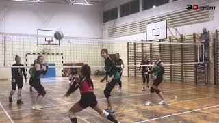 Volleyball: Bronowianka Kraków - MOS Kraków Zachód 3D-Sport [TKKF]. 2018-12-04