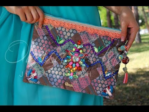 JEWEL CLUTCH BAGS AND SIMPLE CLUTCHES by Ovcica Masa