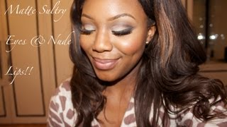 Matte Sultry Eyes and Nude Lips Thumbnail