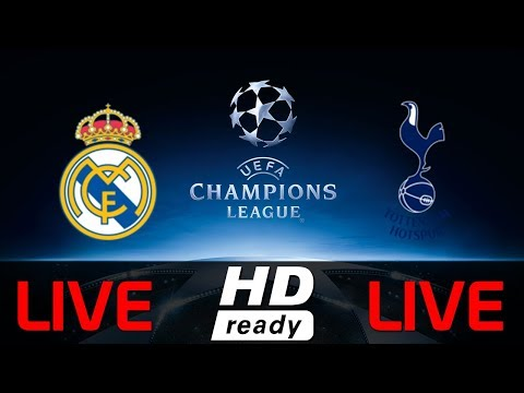 Image result for Tottenham vs Real Madrid live pic logo