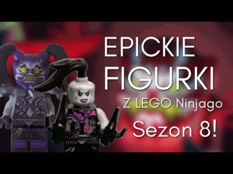 Lego Ninjago Sezon 8 Zdjęcia Figurek Zima 2018 Youtube