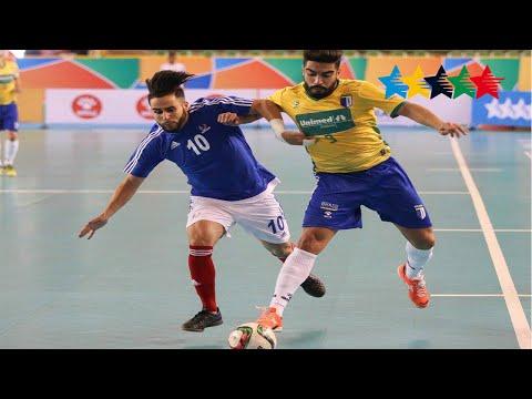 Semi Final Men FRANCE vs BRAZIL - 5th World University Futsal Championship 2016 - Goiânia,  Brasil