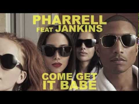 """Free Download Pharrell Williams """"come Get It Babe"""" Feat Miley Cyrus & Jankins Mp3 dan Mp4"""