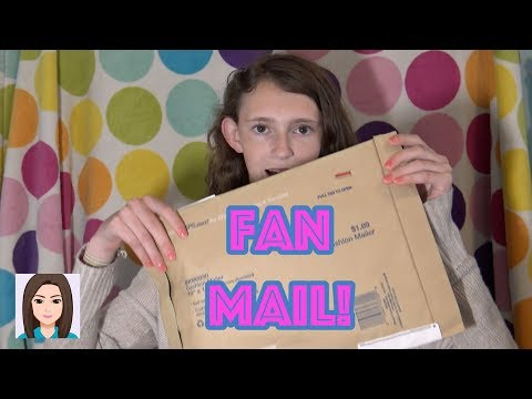 Opening Fan Mail! Thank You!