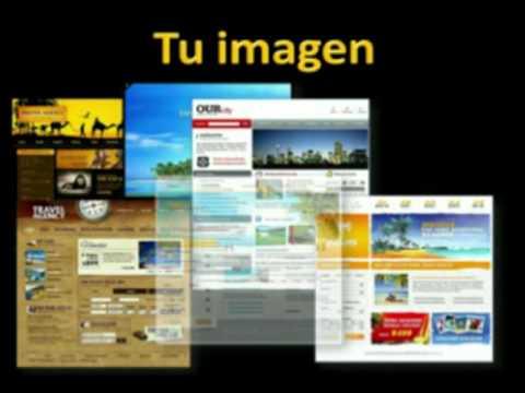 creación y diseño de páginas web para agencias de viajes con www