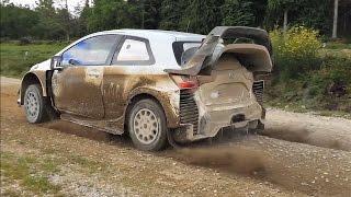 WRC Toyota Yaris Latvala Test Pure Sound Full HD