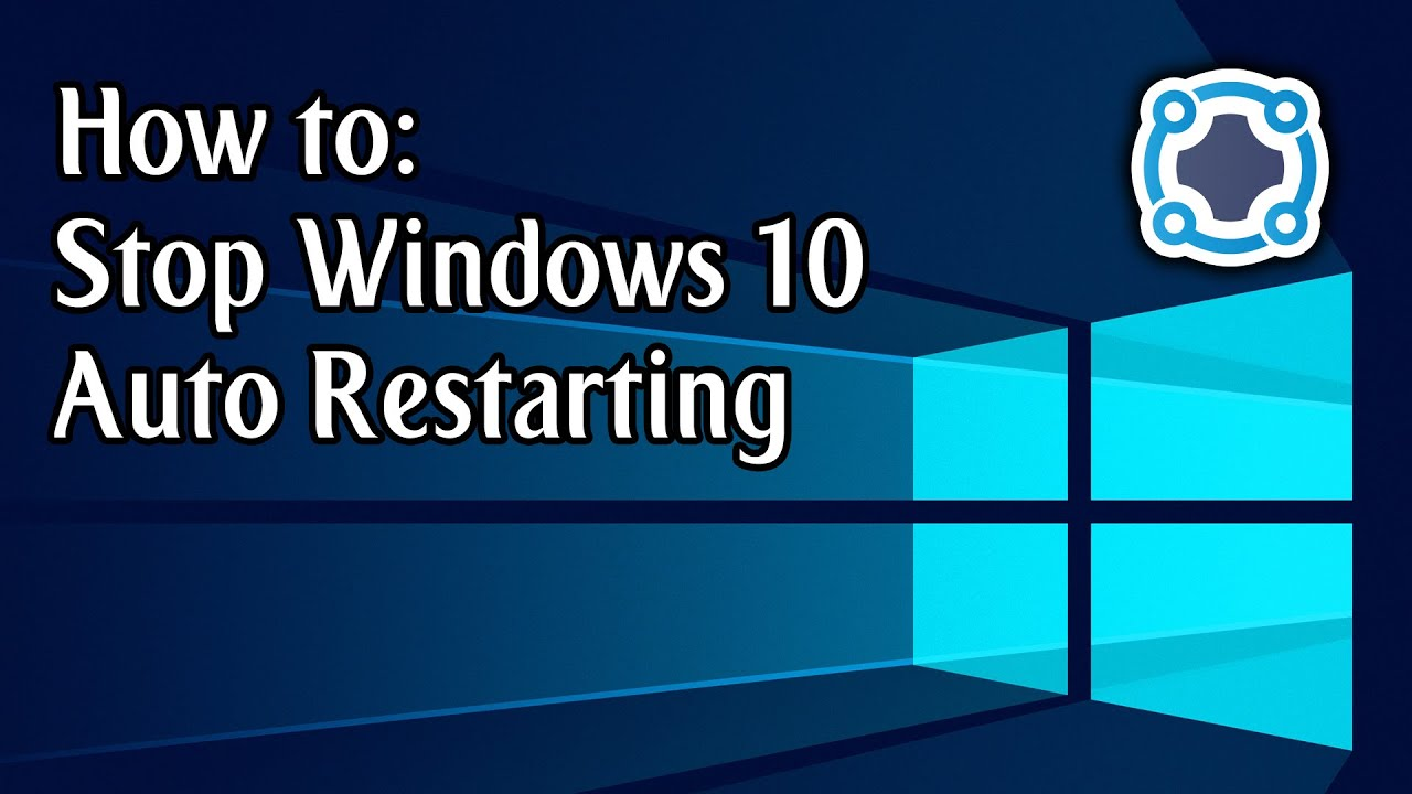 how to stop windows from restarting my computer