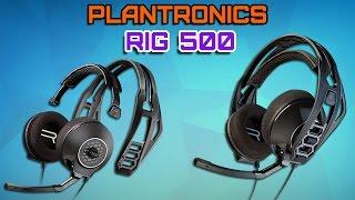 Plantronics RIG 500 Обзор. Недорогая Гарнитура для ценителей хорошего звука