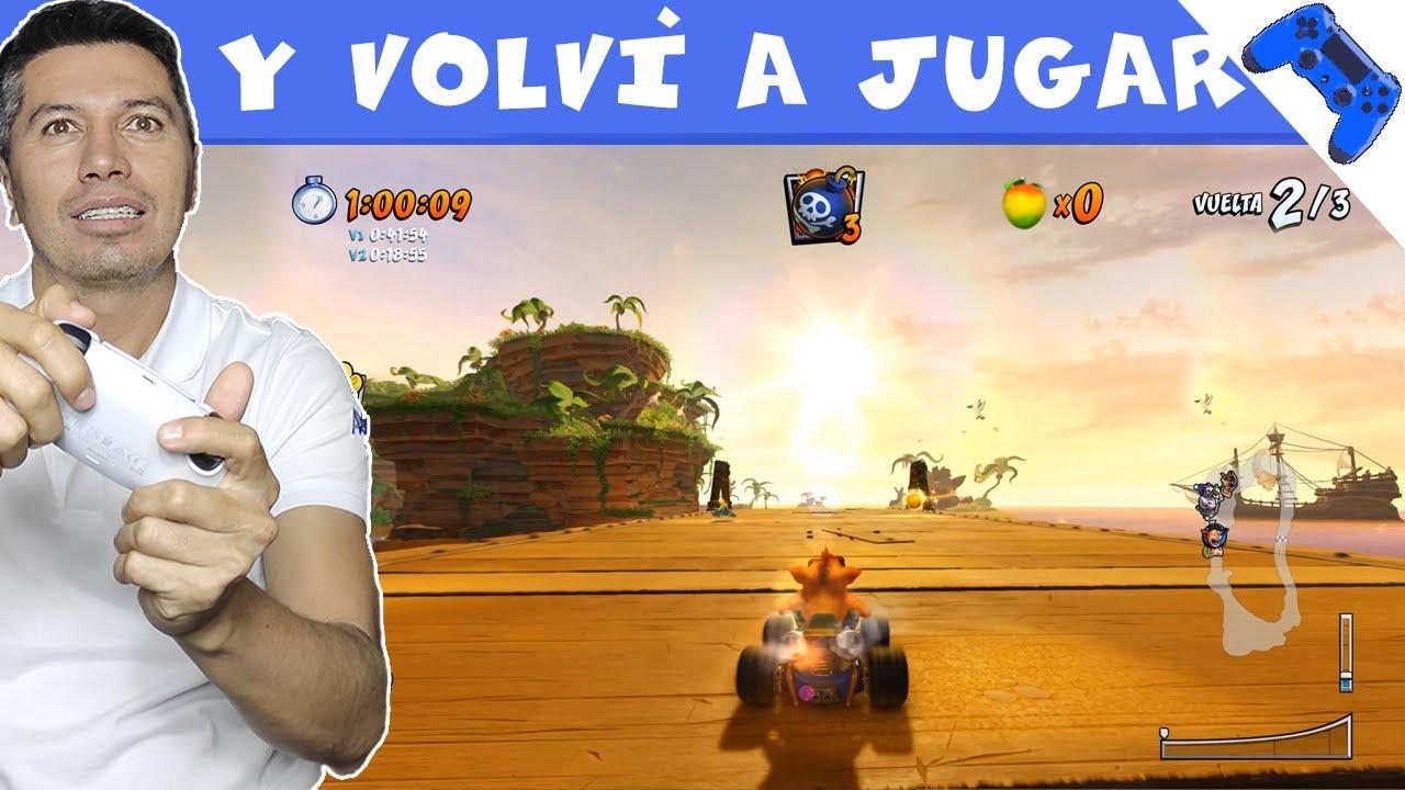 Crash Team Racing Nitro-Fueled Gameplay   Juego super mal 🙈