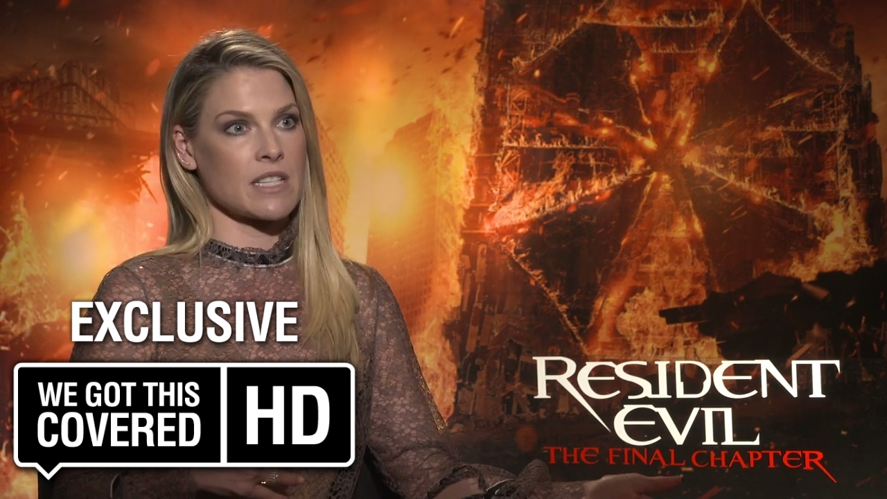 Resident Evil The Final Chapter Interview: Exclusive Interview: Ali Larter Talks Resident Evil: The