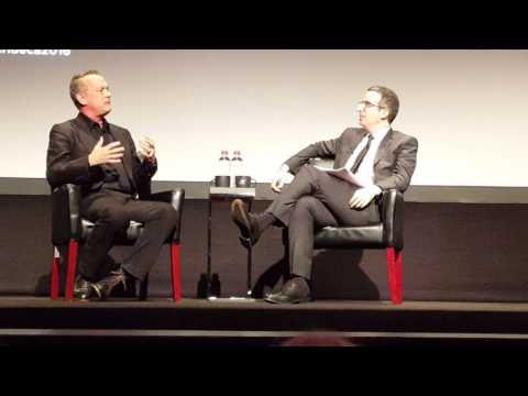 Tribeca Storytellers Tom Hanks & John Oliver 4/22/16 (First Clip)
