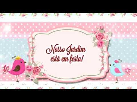 Convite Animado Jardim Encantado Amostra Youtube