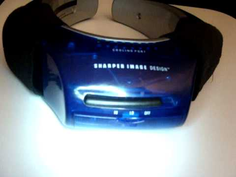 Sharper Image Design Personal Cooling System 20 Mediumlarge Youtube