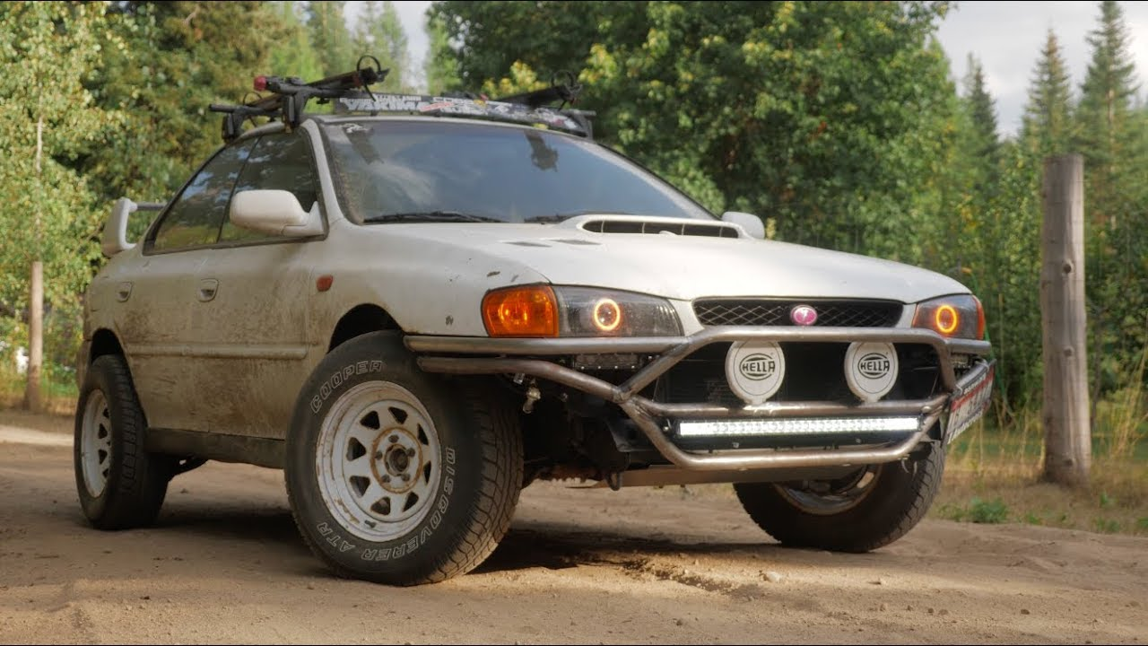 subaru rs custom rally bumper build 4k youtube subaru rs custom rally bumper build 4k
