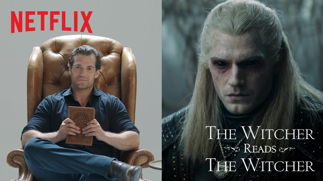 Henry Cavill Reads The Witcher | Netflix thumbnail