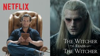 Henry Cavill Reads The Witcher | Netflix