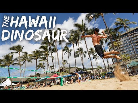 The Hawaii Dinosaur Beach Volleyball VLOG | Kauai, Hawaii 2020