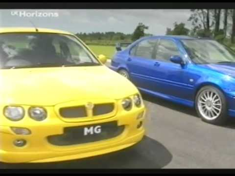 Top Gear Gti Tiff Needell Road Testing The Mg Zr Zs Zt 2002 You
