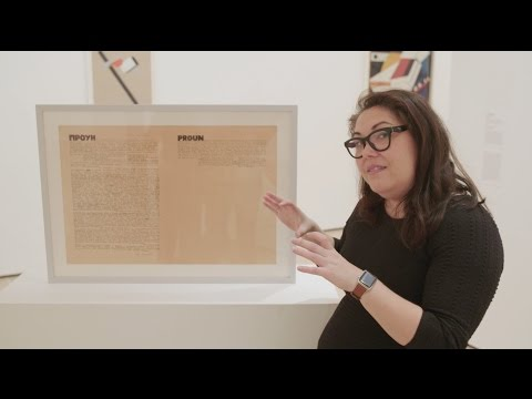 Russian Avant-Garde | HOW TO SEE the art movement with MoMA curator Sarah Suzuki