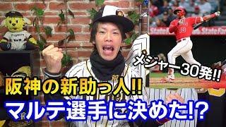 阪神が元エンゼルスのジェフリー・マルテ選手を獲得か?メジャー通算30ホームラン!どんな選手か簡単に紹介します!