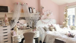"my very girly room tour- ""pink wonderland"""