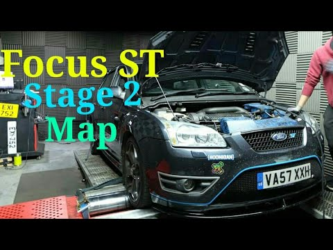 Ford Focus ST Mk2 Stage 2 Remap @ DDG Remapping
