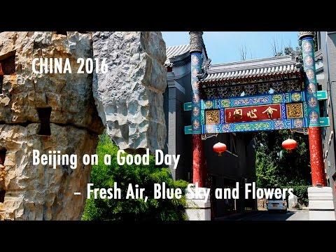 TRAVEL VLOG CHINA: Beijing on a Good Day – Fresh Air and Blue Sky // 北京天气好的时候-新鲜的空气还有蓝天