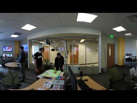 Geovisualization Lab 360º virtual tour