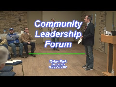 Community Leadership Forum Jan. 10, 2018, Morgantown, WV