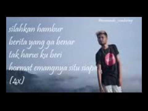 RABIG ft ECKO SHOW - Emang nya situ siapa (official lirik)