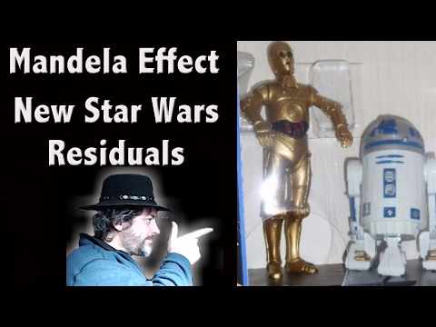 Mandela Effect - New Star Wars Residual - C3PO's Leg is Not Silver - Proof - Luke, I am Your Father
