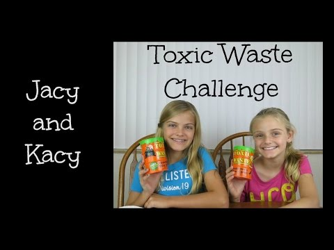 Toxic Waste Challenge ~ Jacy and Kacy