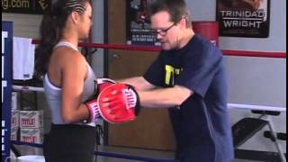 Freddie Roach teaching boxing basics - Manny Pacquiao