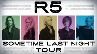 ● R5 - Sometime Last Night Tour (Intro Video)