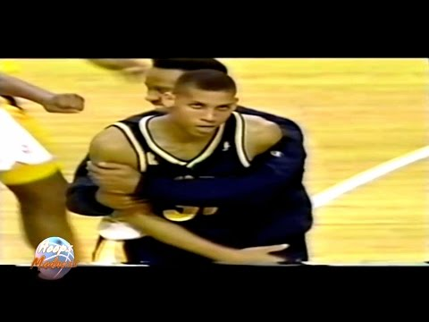 Tony Kukoc 0.8 Game Winning Shot (Reggie Miller Early Celebration)