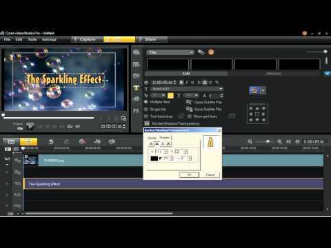 Advanced Video Effects in Corel VideoStudio Pro X5 Ultimate