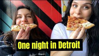 one night in DETROIT #Detroit #Travel #Vlogger