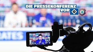 LIVE: Die Pressekonferenz vor dem Spiel gegen den FC Erzgebirge Aue