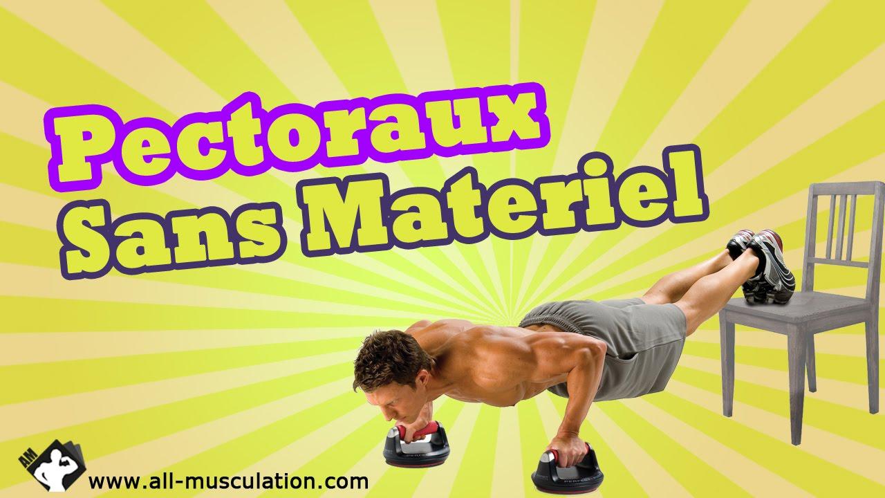 Top5 Des Exercices De Pectoraux Sans Materiel Muscler Les Pectoraux Avec All Musculation Youtube