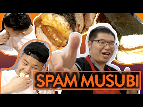 EPIC SPAM MUSUBI RECIPES w/ TIM SHIIBA  - Fung Bros Food