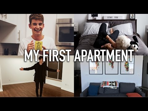 MY FIRST APARTMENT -  A TOUR