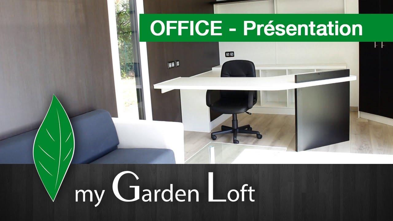 bureau de jardin mod le office my garden loft youtube. Black Bedroom Furniture Sets. Home Design Ideas