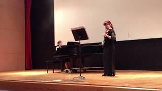Excerpt of Beethoven Kreutzer Sonata IX 2nd Mov. - Dr. Roumena Georgieva accompanied by Dr. Chung