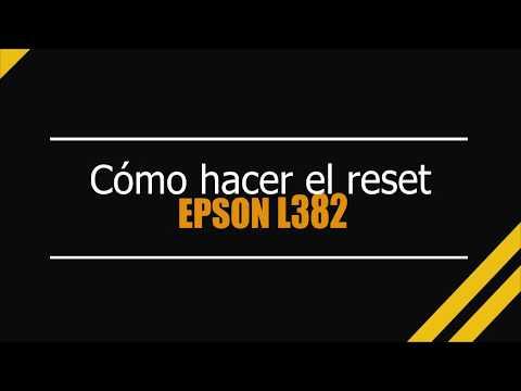 Reset EPSON L382 (L380,L383,L385,L485) 100% Garantie Keygen