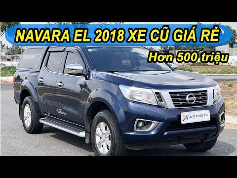 Bán tải Navara - Navara EL 2018 - Bán tải cũ giá rẻ - Xe cũ sài gòn, xe cũ bình dương, bán tải cũ