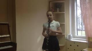 Ж.Конт Вечер исполняет Петрига Полина