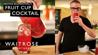 Heston's Fruit Cup Cocktail | Waitrose