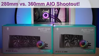 280mm vs 360mm AIO Liquid CPU Coolers - Which Should You Choose?